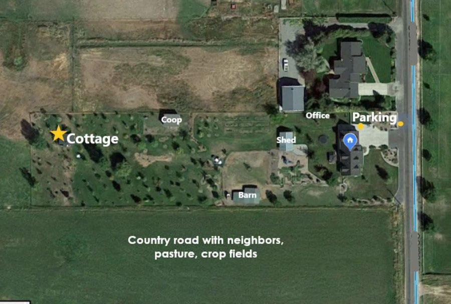 200 Sq Ft Grove Cottage on Hobby Farm 003