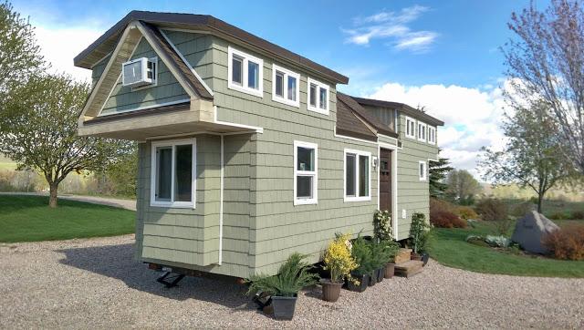 Tiny Home Designs: 200 Sq. Ft. Family Tiny House