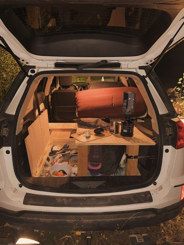 2017 GMC Terrain SUV Turned Super Stealthy Home 006