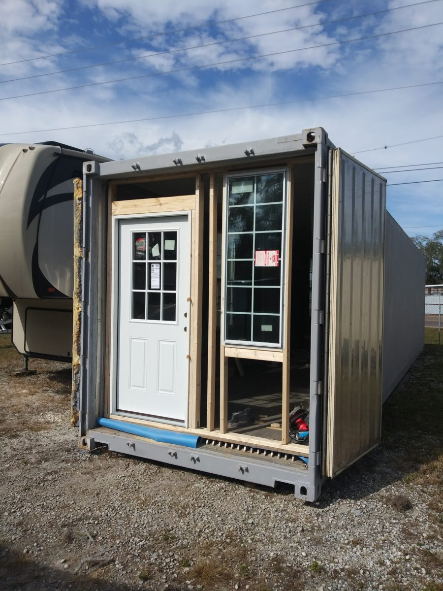 40 foot insulated container home 13