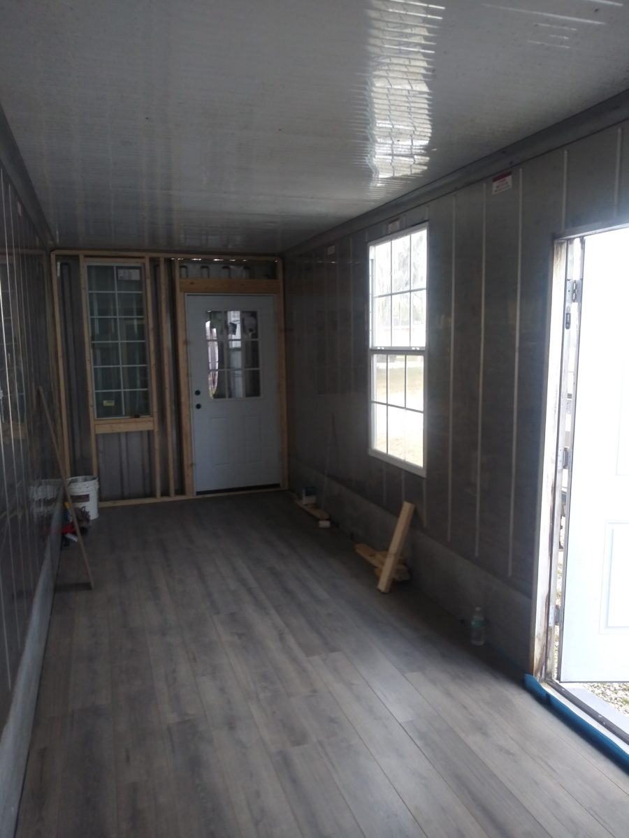 40 foot insulated container home 6