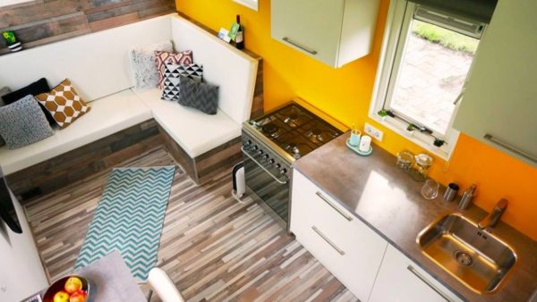 206 Sq. Ft. Tiny House Built by High-School Teacher