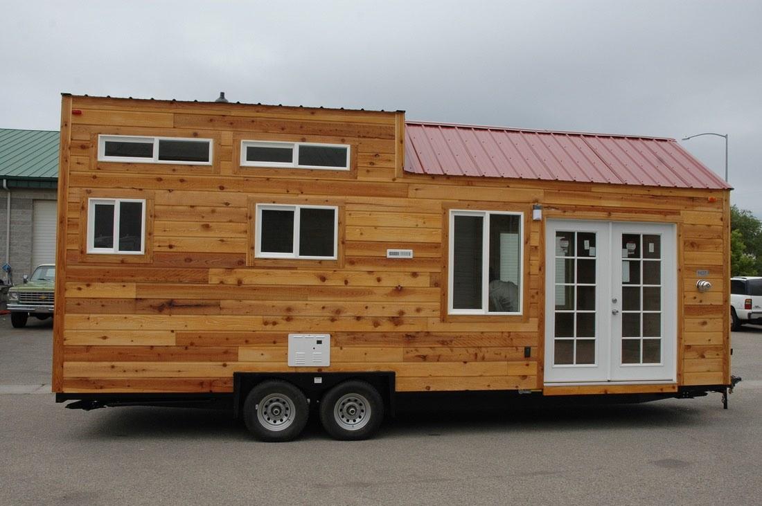 208 Sq. Ft. Tiny House On Wheels By Tiny Idahomes