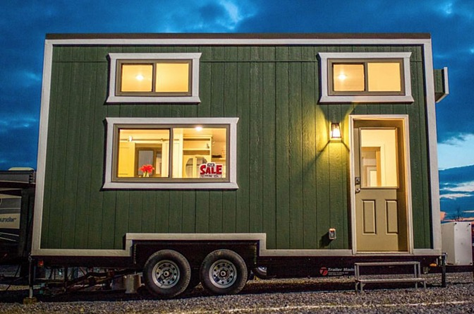 20ft Emerald Tiny House on Wheels For Sale in Zionsville Indiana 0013