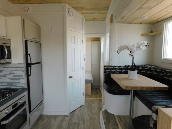 20ft Ozark Tiny House with a Dinette Slide Out 0013