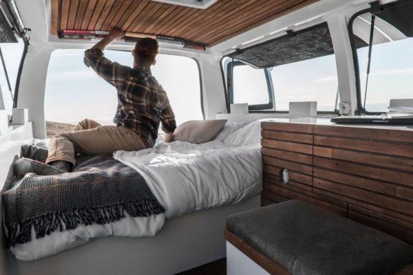 23-Year-Old Filmmakers Cargo Van Tiny House 0013