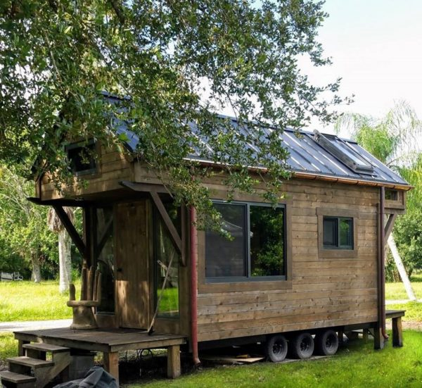 230 Sq. Ft. Rustic Tiny House For Sale-002