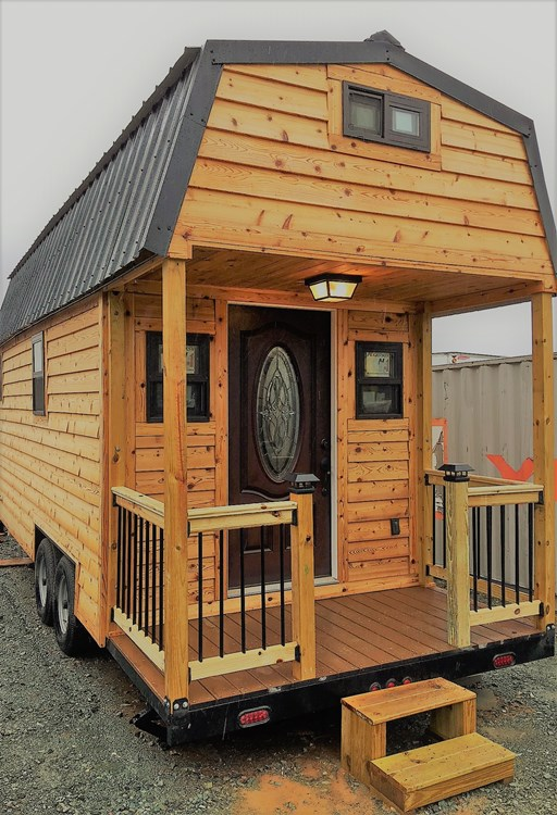 24ft Cedar THOW in Raleigh by Tiny Homes of the Triangle 0013