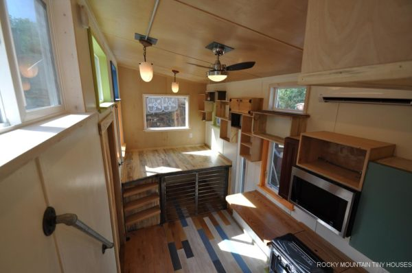 24ft Tandy Tiny House on Wheels by Rocky Mountain Tiny Houses 004
