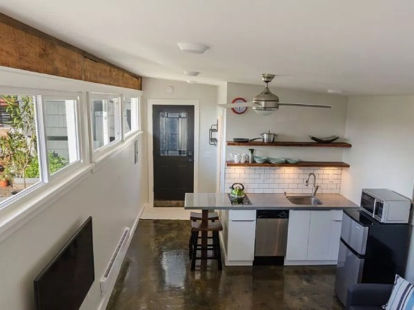 Garage Converted into 250 Sq. Ft. Tiny House (Now For Sale)