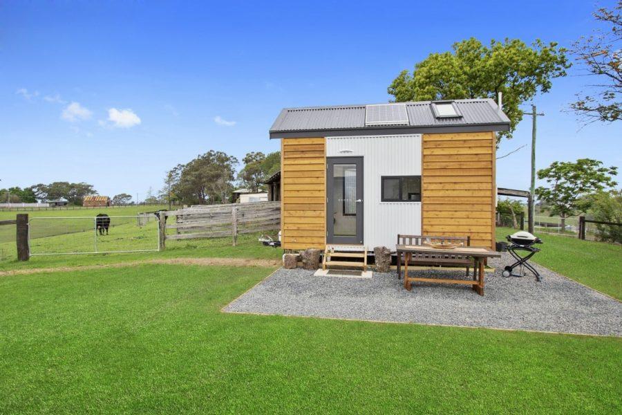 Eco-Friendly Tiny Home on the Farm