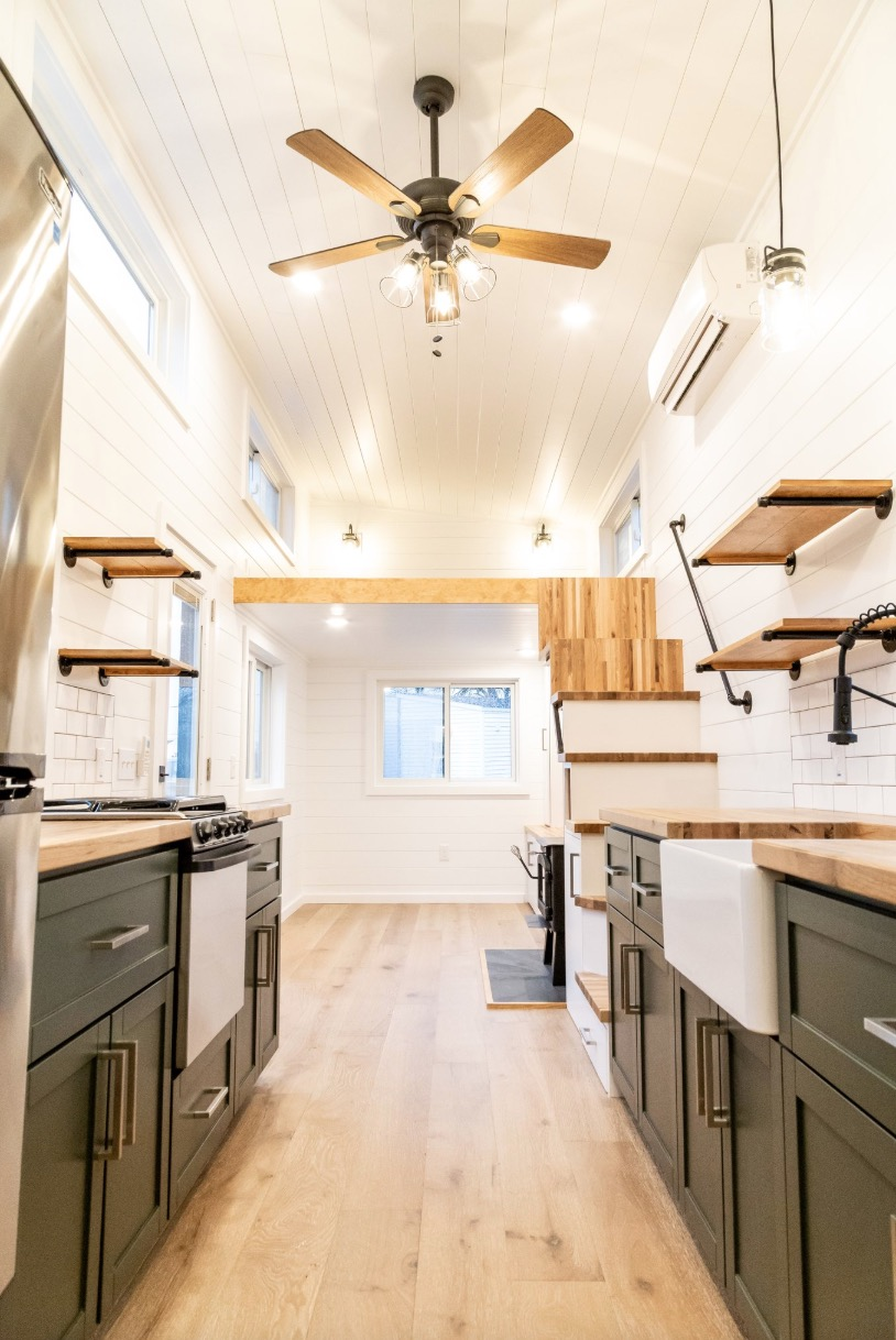 28-foot 360-square-foot THOW by Liberation Tiny Homes 005