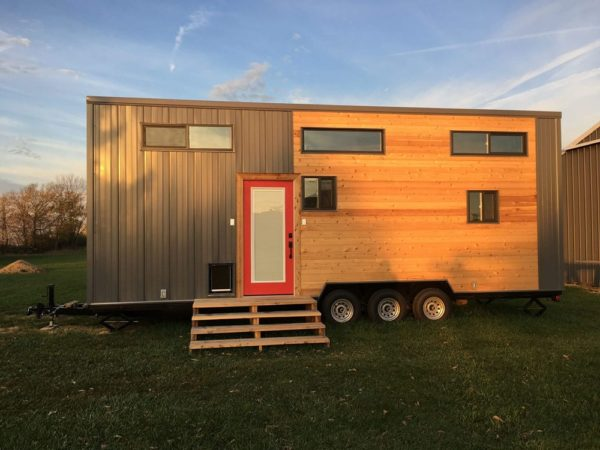 28ft Expedition Tiny House by Maverick Tiny Homes For Sale 001