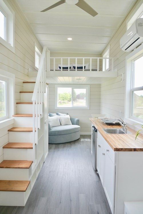 28ft Tiny House on Wheels in Highland Utah For Sale 007