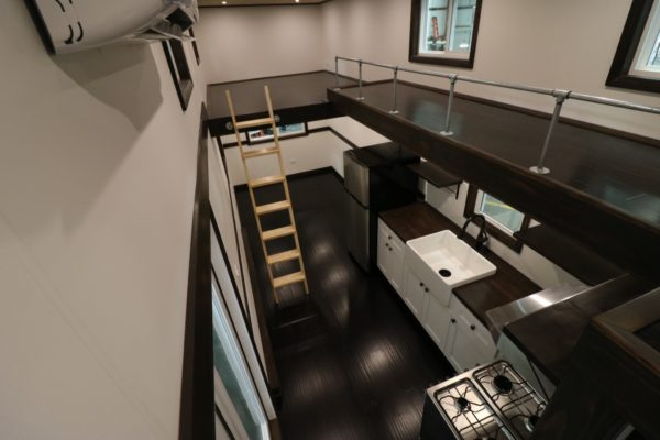 28ft Tiny House with 12ft Loft-to-Loft Catwalk by Titan Tiny Homes 002