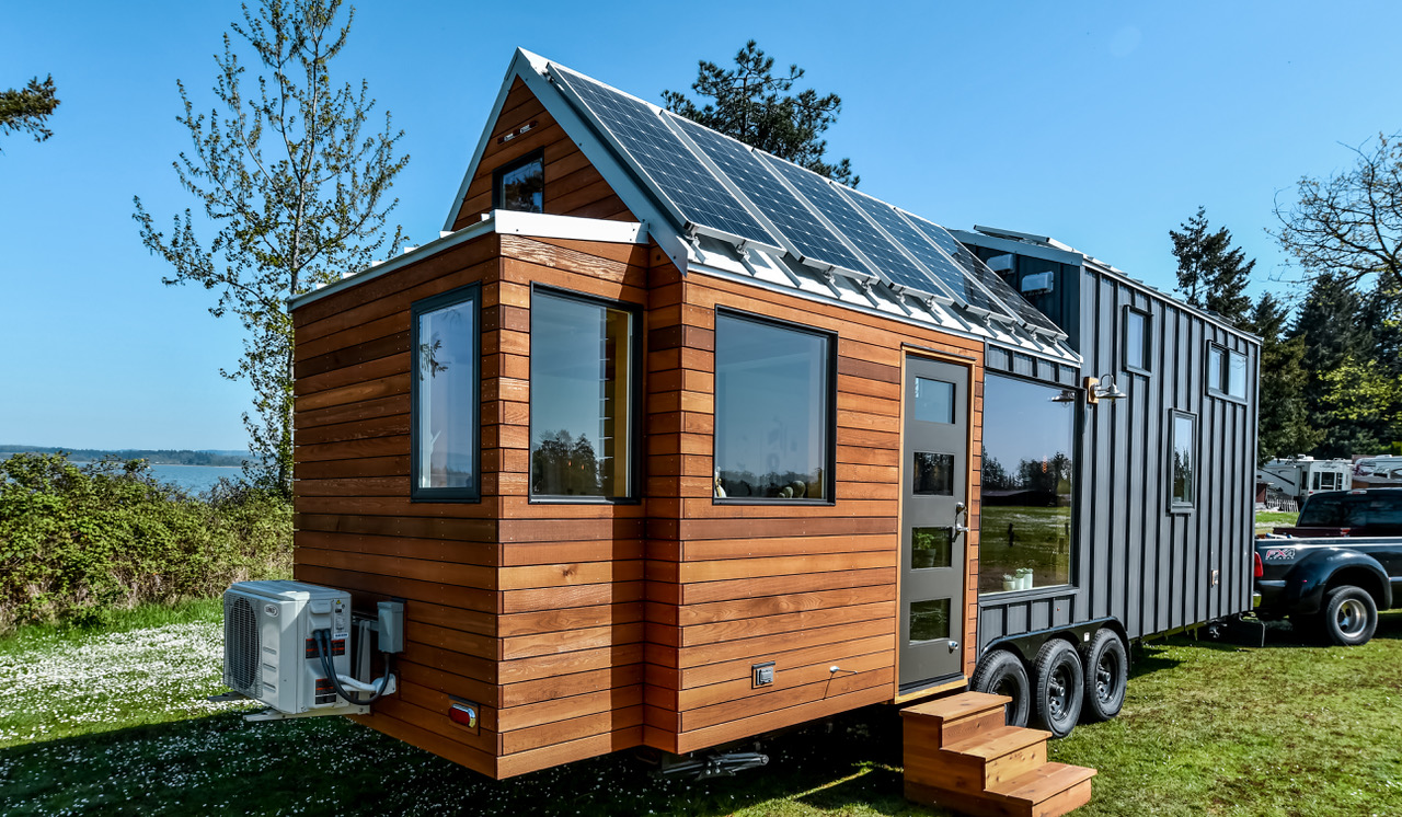 28ft Urban Payette Tiny Home With Bump Out