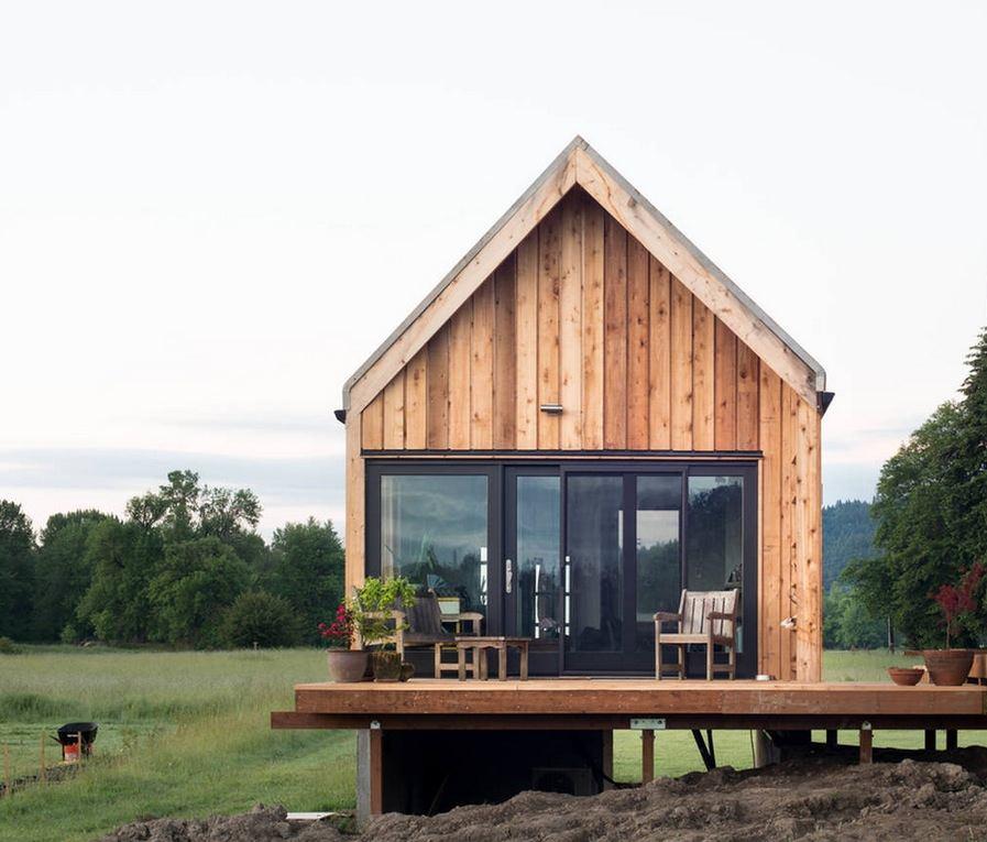 Tiny House Container Amazon: Tiny Cabin Vacation On Organic Farm Near Portland