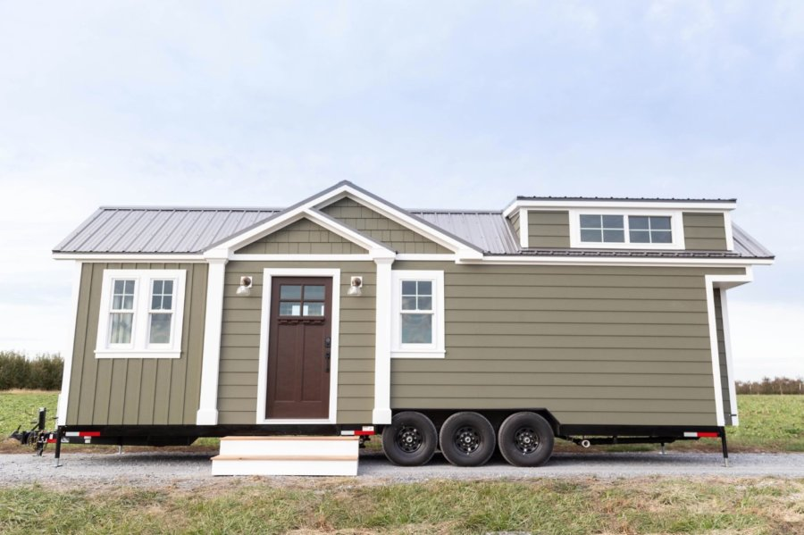 30ft Craftsman Tiny House by Liberation Tiny Homes 001