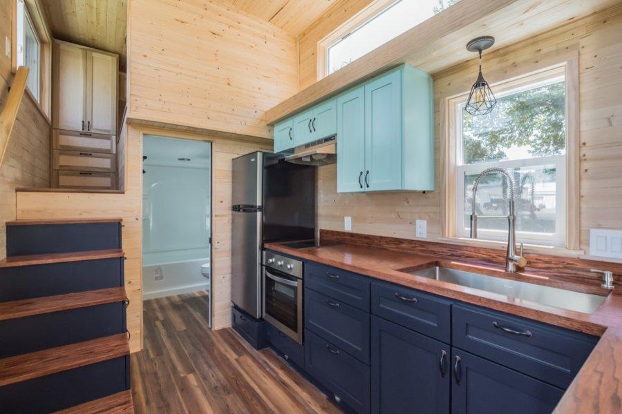 32-ft Wanderlust Tiny House by Indigo River Tiny Homes 0011