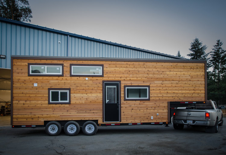 33-Foot Starling Tiny House Built on Gooseneck Trailer by Rewild Homes