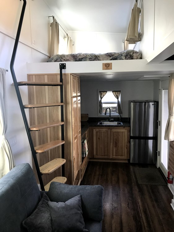 333-Square-Foot Tiny House For Sale by Tiny Mountain Houses