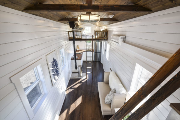 34ft Custom Loft Edition Tiny House on Wheels