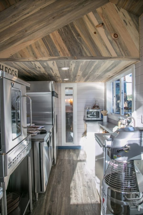 34ft Tiny House with Full Size Industrial Kitchen by Tiny Heirloom 0010