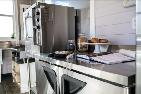 34ft Tiny House with Full Size Industrial Kitchen by Tiny Heirloom 0013