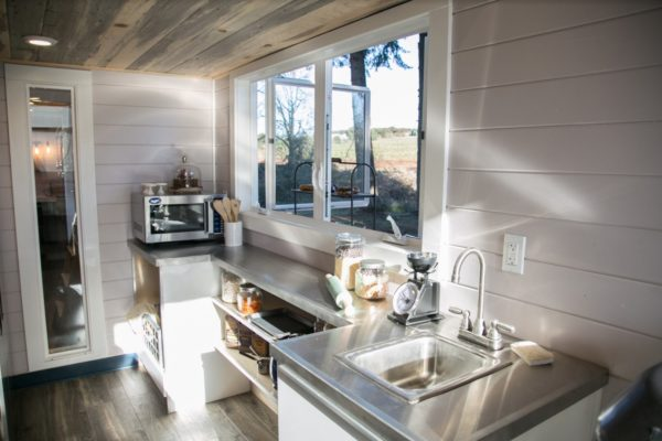 34ft Tiny House with Full Size Industrial Kitchen by Tiny Heirloom 005