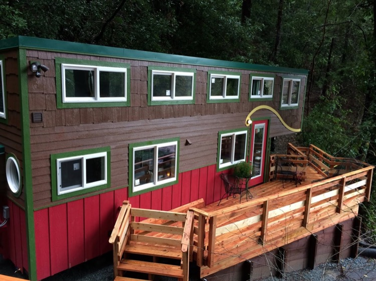 34ft Whimsical Tiny House by Molecule Tiny Homes 001