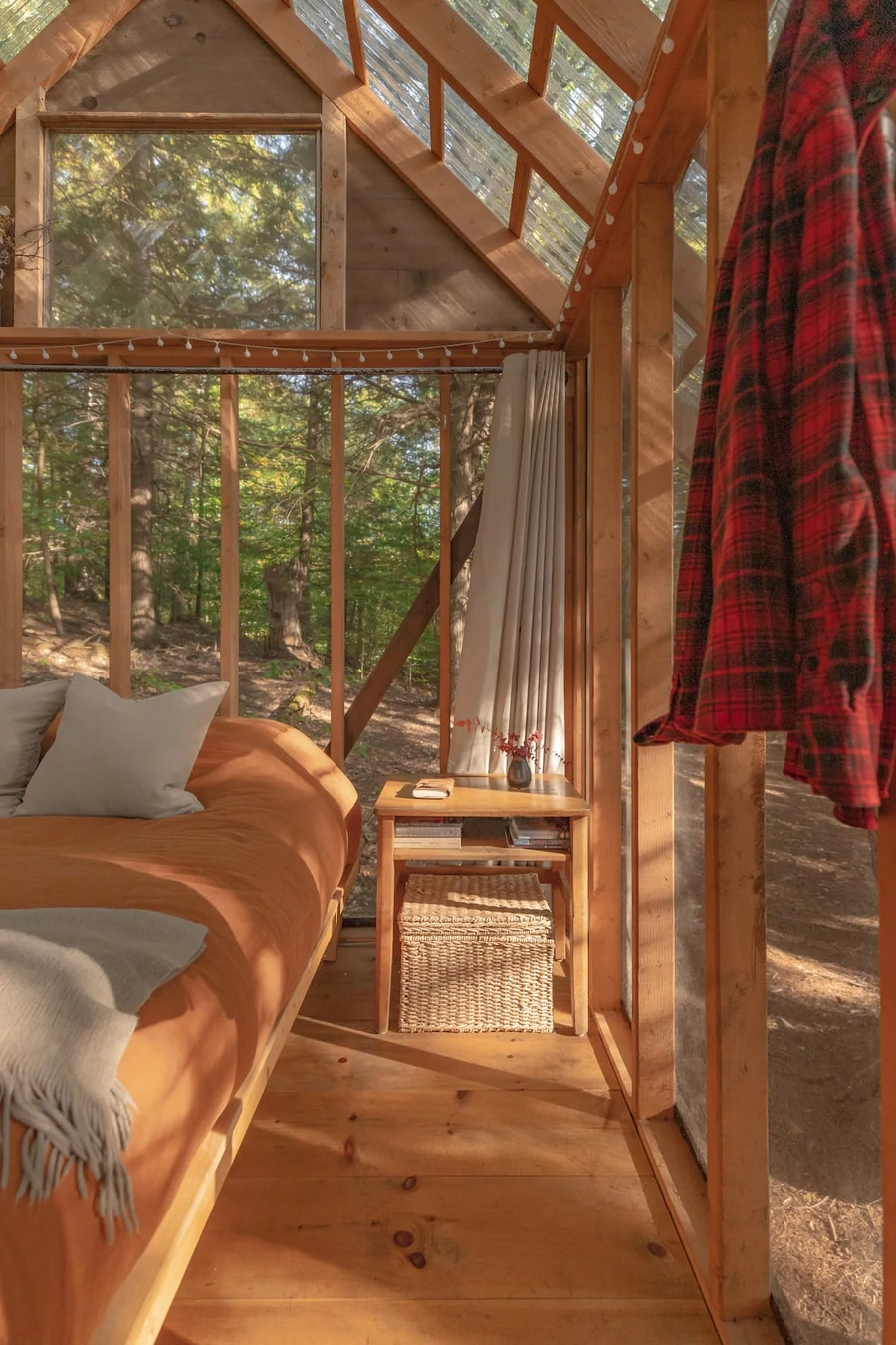 Screened-In Tiny Cottage in the Vermont Woods 19