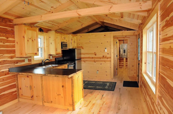 360 Sq. Ft. Cambridge Log Cabin 005
