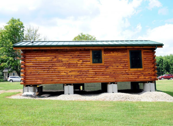 360 Sq. Ft. Cambridge Log Cabin 006