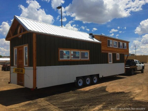 36ft Moby Dick Tiny House Shell by Rocky Mountain Tiny Houses 005