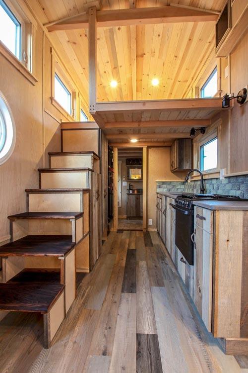 376-Square-Foot Santa Fe Tiny House on Wheels by SimBLISSity Tiny Homes 003