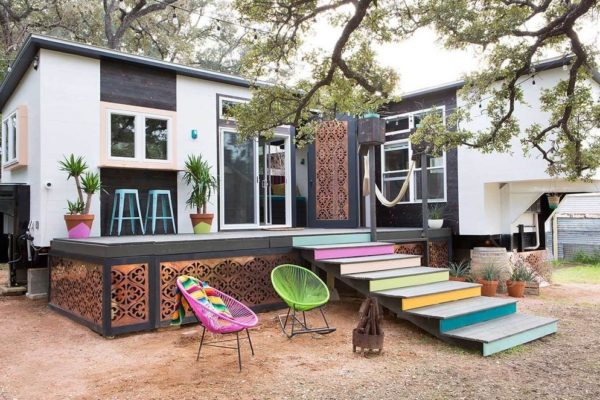 Double THOW Tiny Home in Austin