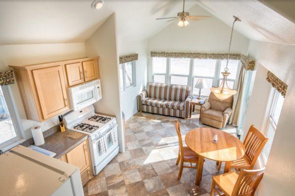 396 sf Arizona Oasis River Cottage Park Model Tiny Home 002