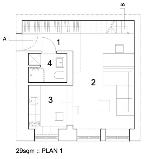 3XA 312 Sq Ft Apartment 0010