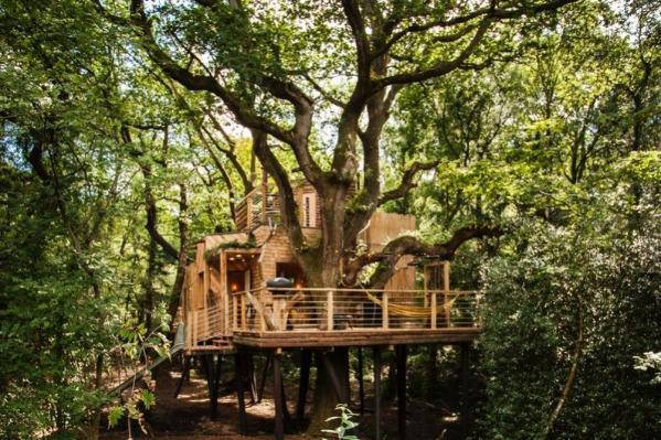 Woodman's Treehouse with Awesome Copper Tub! 4