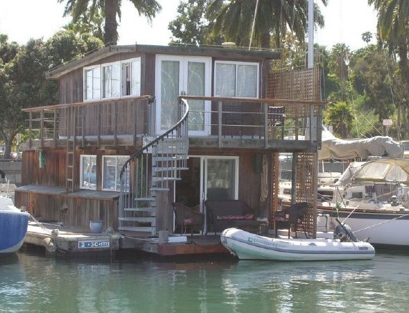 40 Ft Houseboat in Santa Barbara CA For Sale 001