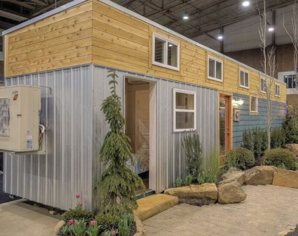40 Modern Shipping Container Tiny Home 0014