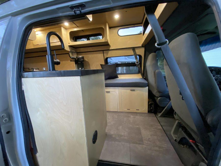 4×4 PowerStroke E350 High Roof Van Build by VanLife247 007