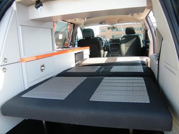 5 Mars RV Dodge Caravan Motorhome Conversion 0012