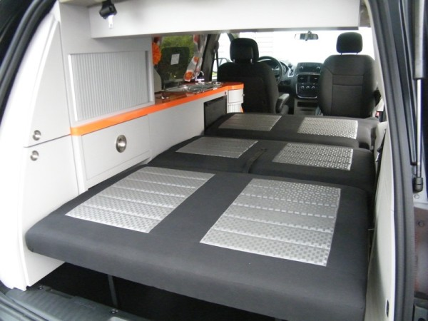 5 Mars RV Dodge Caravan Motorhome Conversion