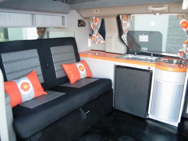 5 Mars RV Dodge Caravan Motorhome Conversion 0021