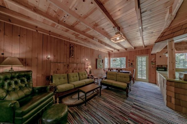 550 sq ft Cabin in the Woods of Phillips CA For Sale 005