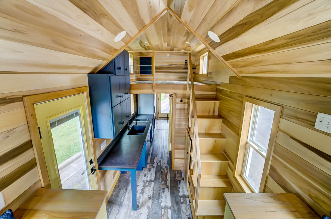 28ft Serenity Tiny House by Modern Tiny Living