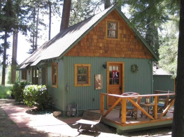 600 Sq Ft Wildflower Cabin