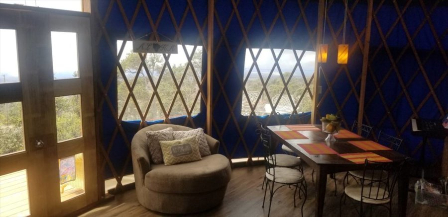 Off-Grid Yurt with One Acre For Sale in Hawaii!