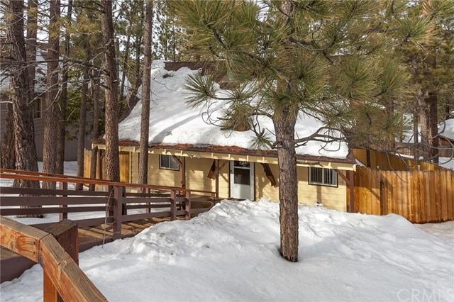 680 Sq Ft Cabin In Big Bear California